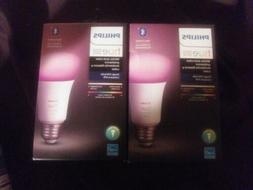 2- New Philips Hue White and Color Latest Version A19 LED Sm