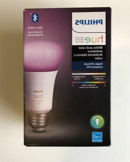 Philips Hue White and Color Ambience A19 2000K - 6500K Dimma