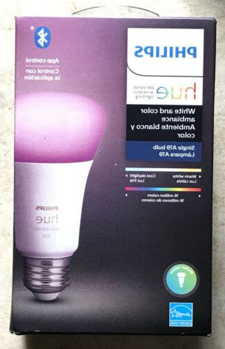 new philips hue and color ambience a19