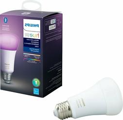 Philips - Hue White & Color Ambiance A19 Bluetooth Smart LED