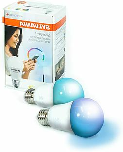 SYLVANIA SMART+ ZigBee Bulb, Color Changing and Dimmable A19