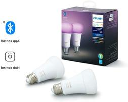 Philips Hue White / White And Color Ambiance A19 Br30 Led Sm